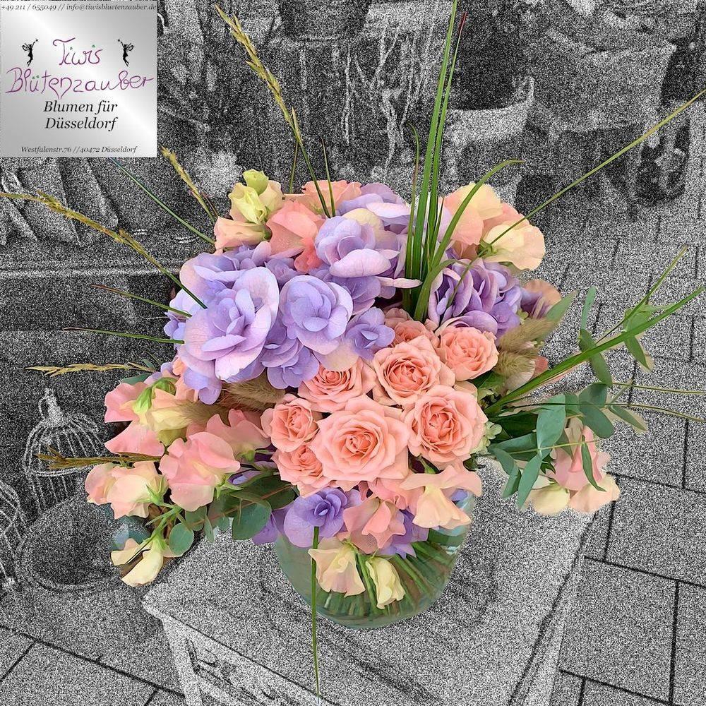 Blumenstrauss vom Blumenladen  Tiwis Blütenzauber in Düsseldorf