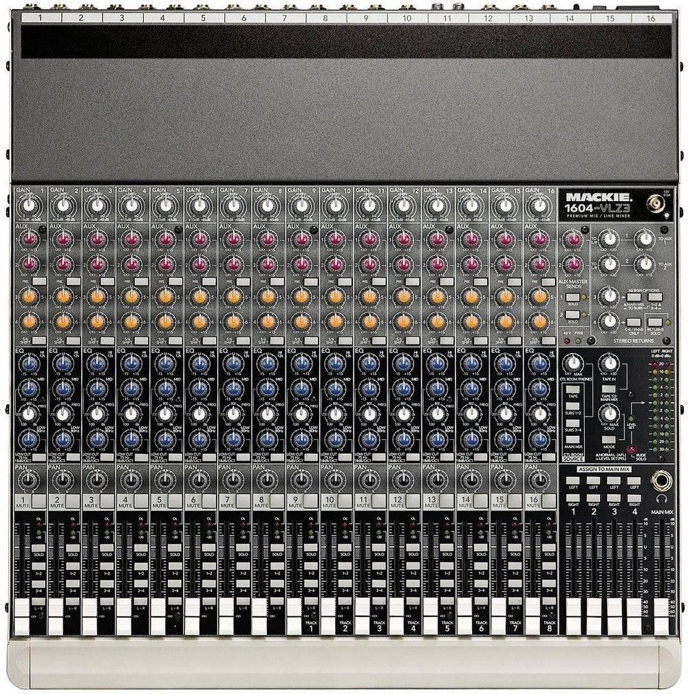 16 channel stage mixer for rent
