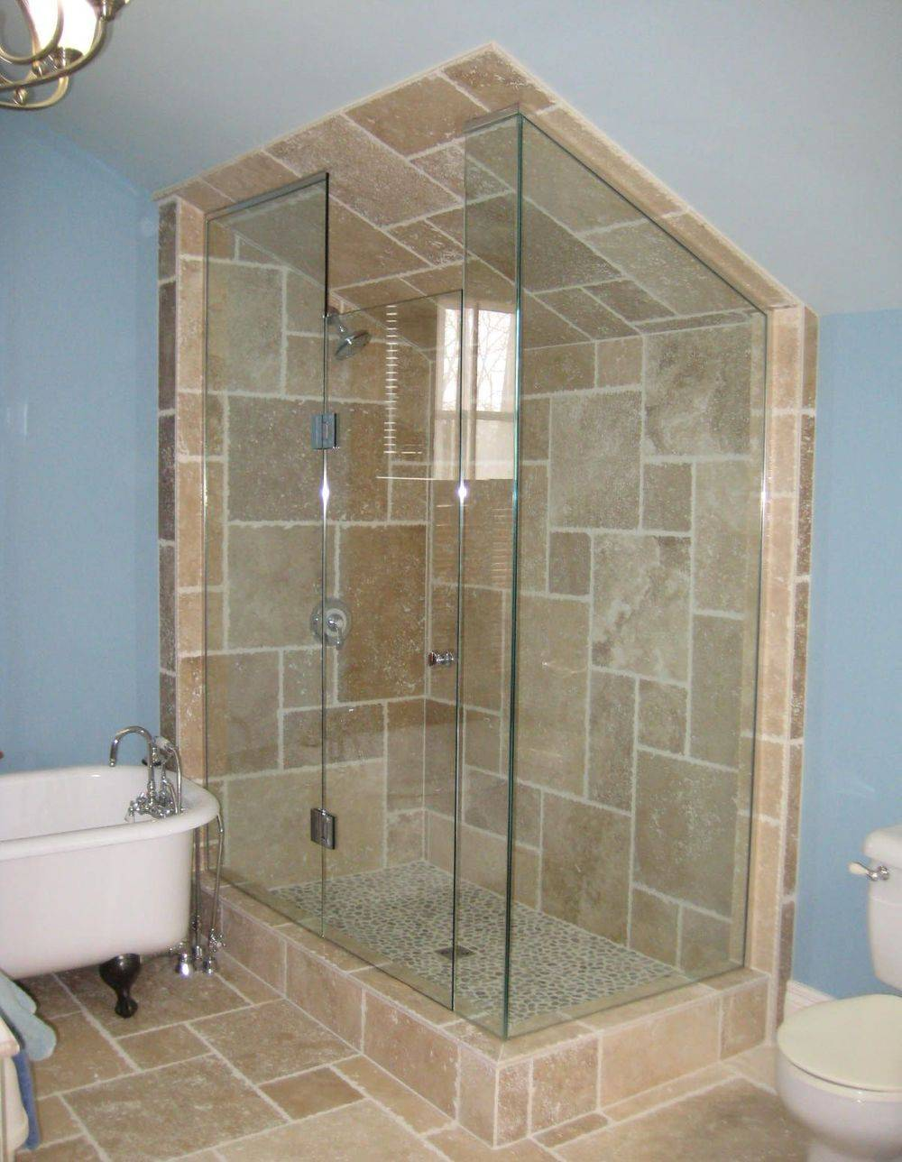 Frameless Glass Shower Enclosure , Markhan Richmond Hill, Toronto, Newmarket, Pickering, Uxbridge