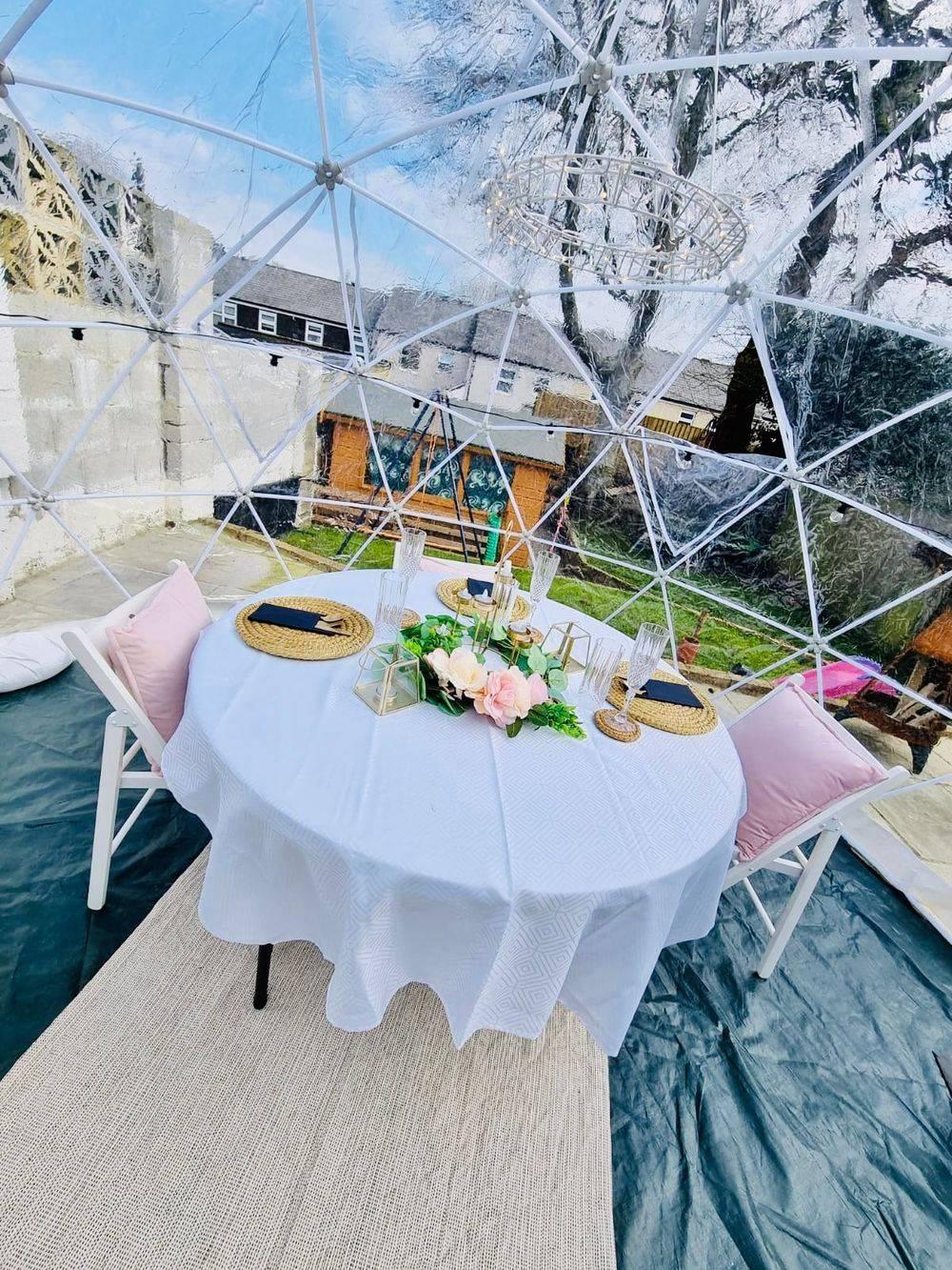 Dining Dome Cornwall Igloo Pod Dreamy Dome