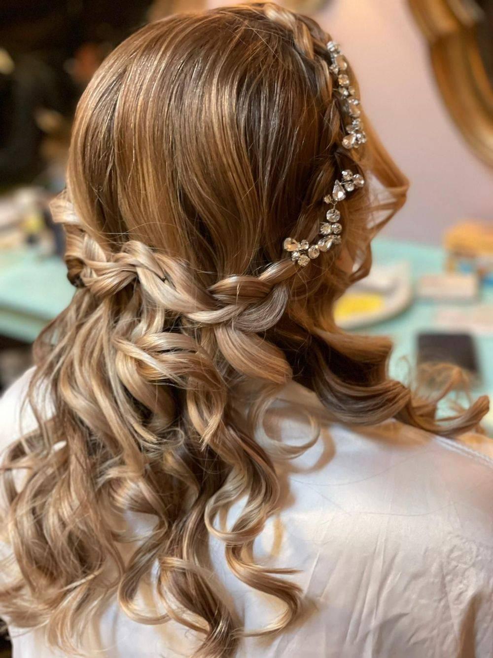Crystal Bridal Hair