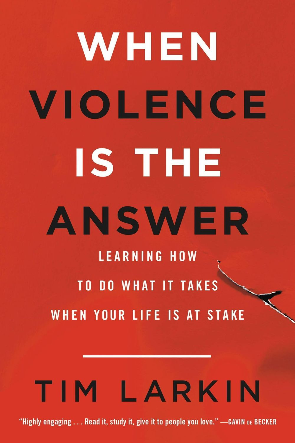 when violence is the answer, tim larkin, violence, defense, attack, war is my business