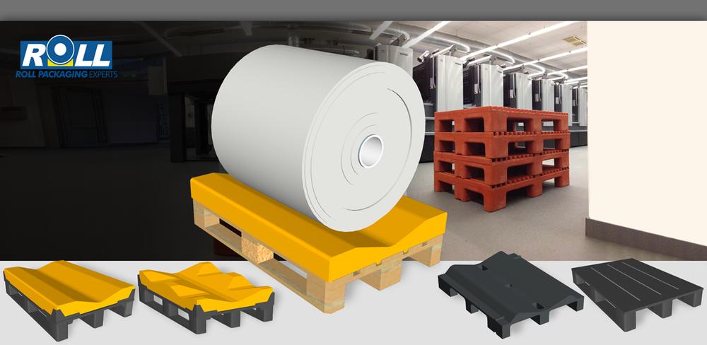 Produkte unserer Kunststoff-Rollenpaletten-Lösungen
