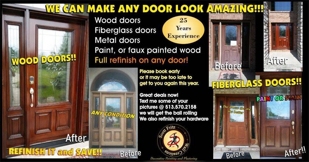 door restoration, cincinnati, ohio