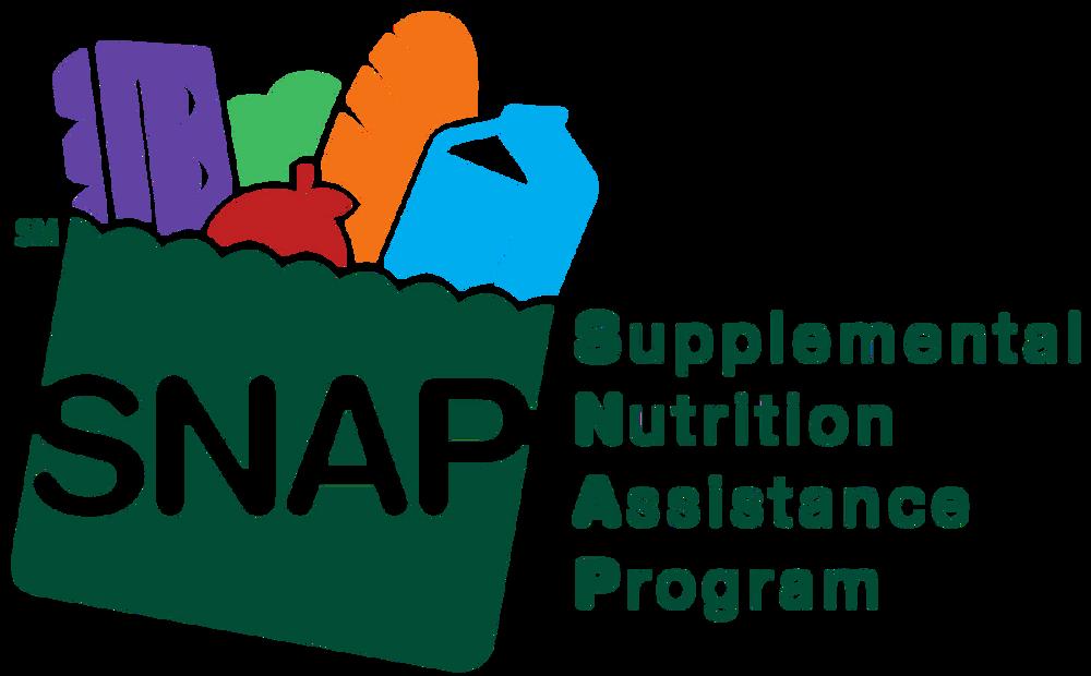 Logo for the Supplemental Nutrition Assistance Program.