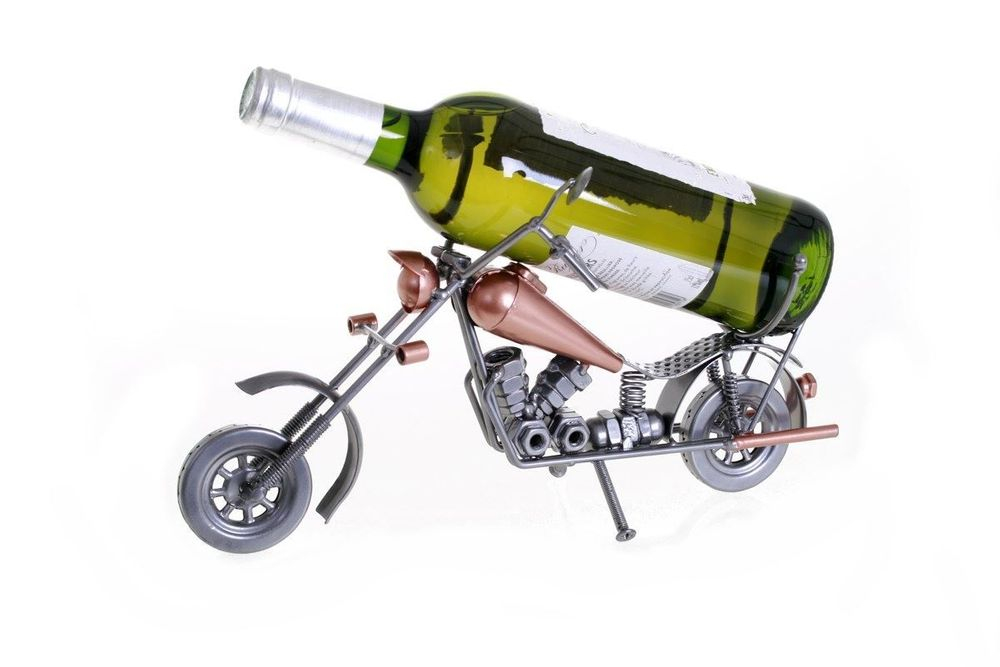 PORTE BOUTEILLE MOTO CHOPPER