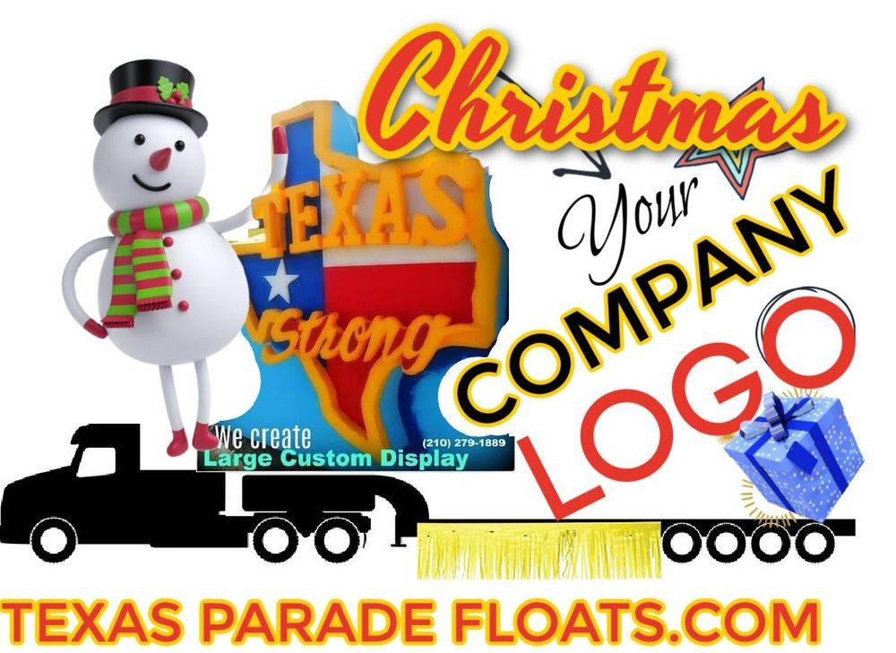 Christmas parade float builders