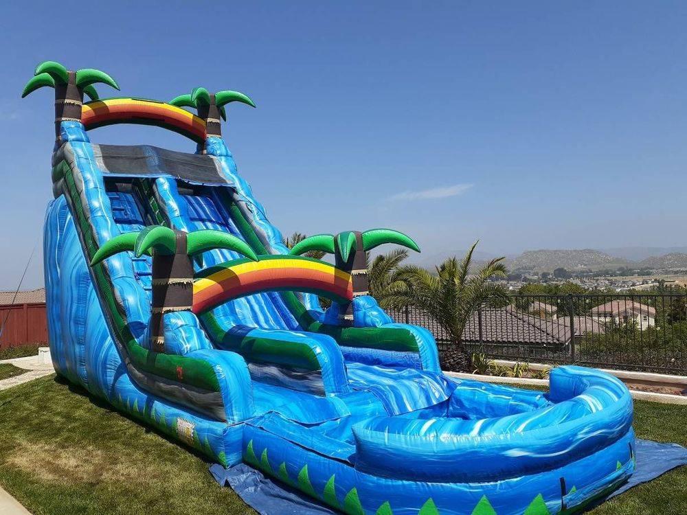 water slide jumper rental moreno valley menifee riverside yucaipa beaumont lake elsinore party rentals