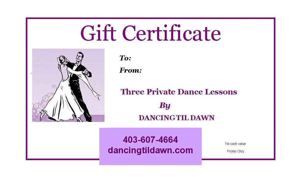 Dance lessons for adults in Calgary