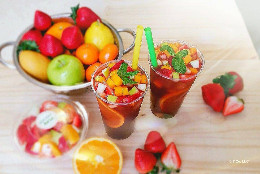 T-ZO Vietnamese Fresh Natural Fruits Drink