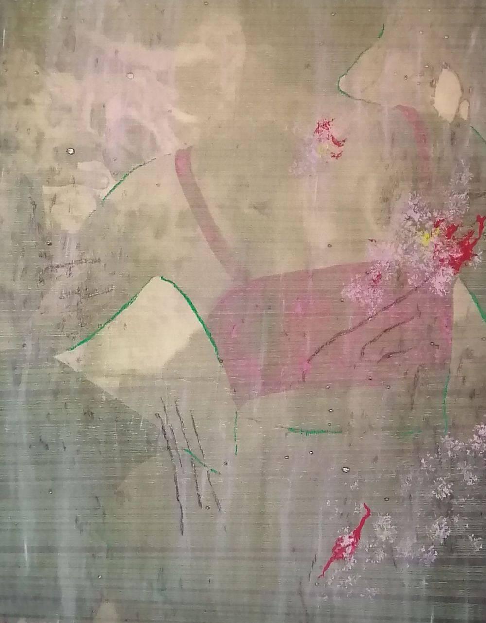 Aquarelle, Nude, Femme, Portrait, Histoire de l'art
