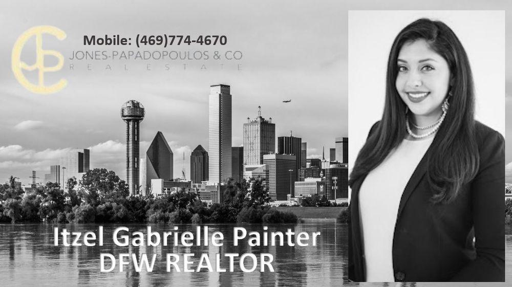 Itzel Gabriella Painter DFW Realtor