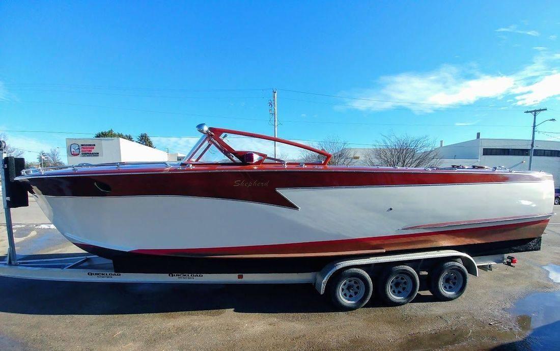 30 Shepherd Wood boat for sale