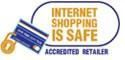 Internet safe buying logo for purchasing protection on the internet with AAA FilterFast
