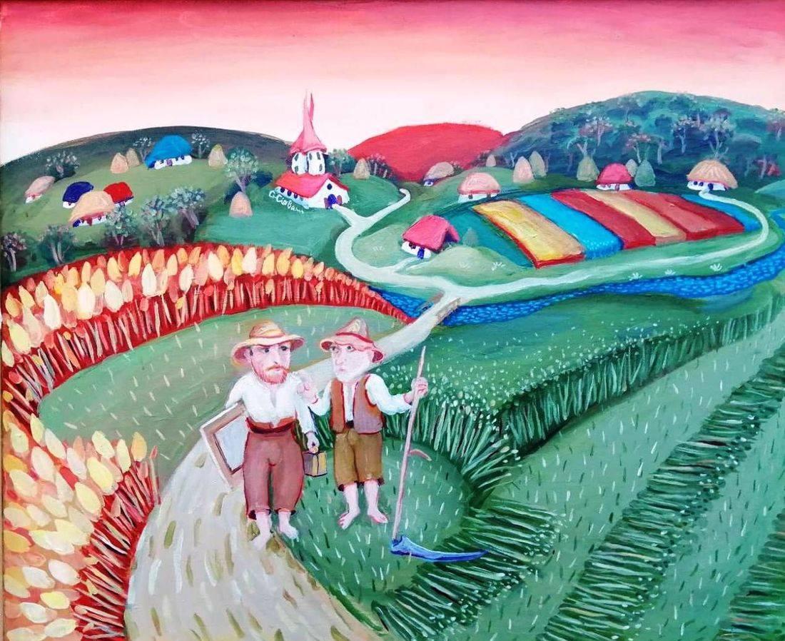 Gheorghe Ciobanu - Pictura Naiva