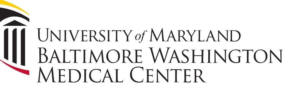 Logo with words University of Maryland Baltimore Washington Medical Center