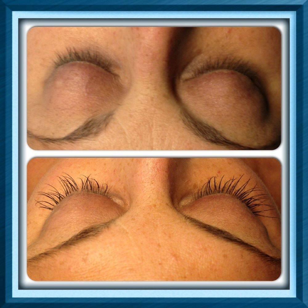 Eye lash extentions 1