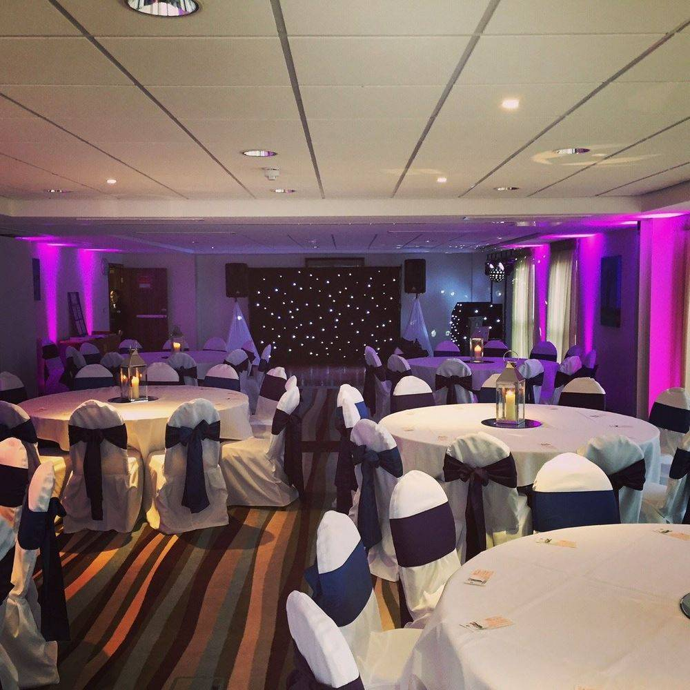 Star cloth backdrop hire, Southport