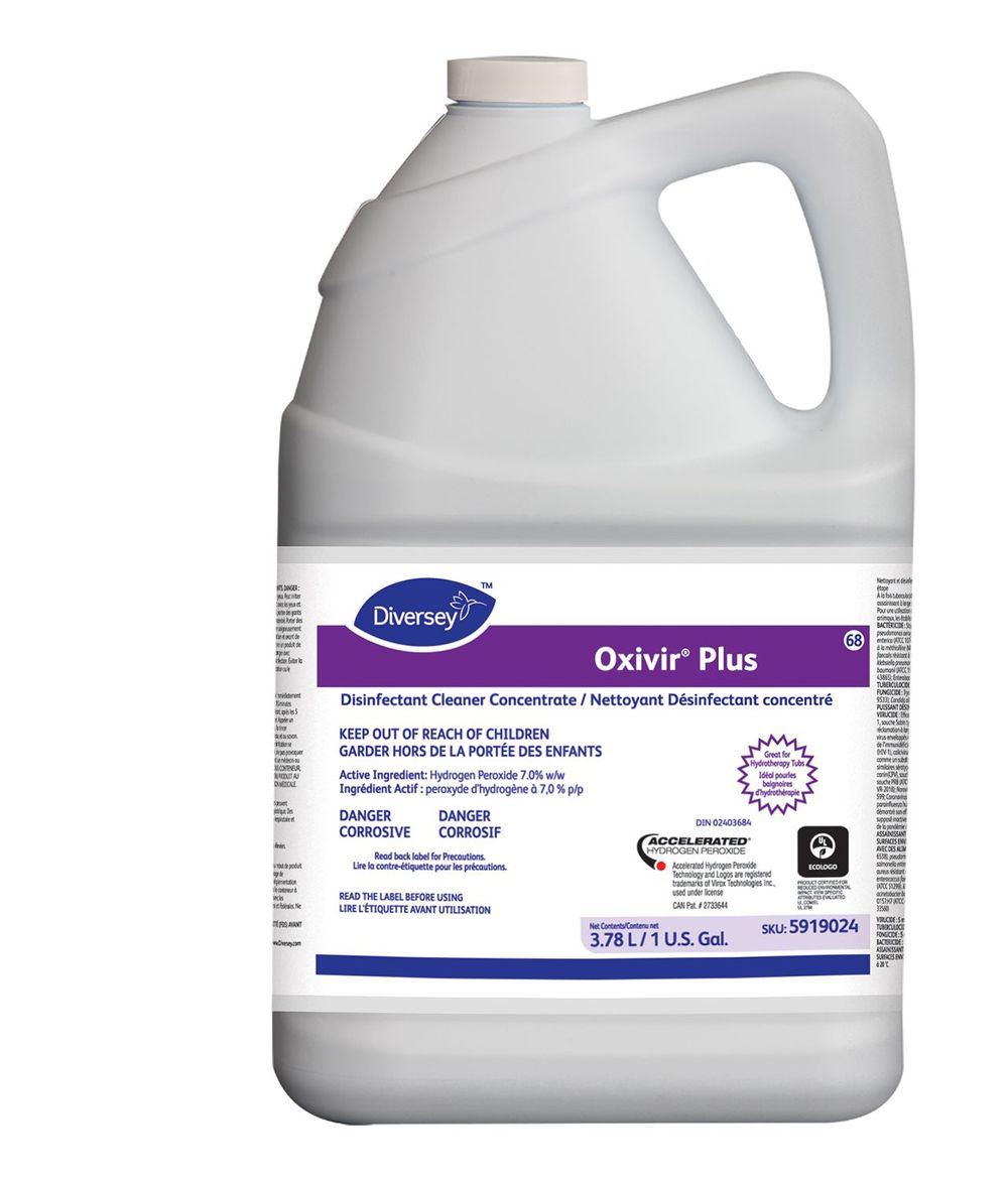 Oxivir Plus Disinfectant Hydrogen Peroxide Covid-19