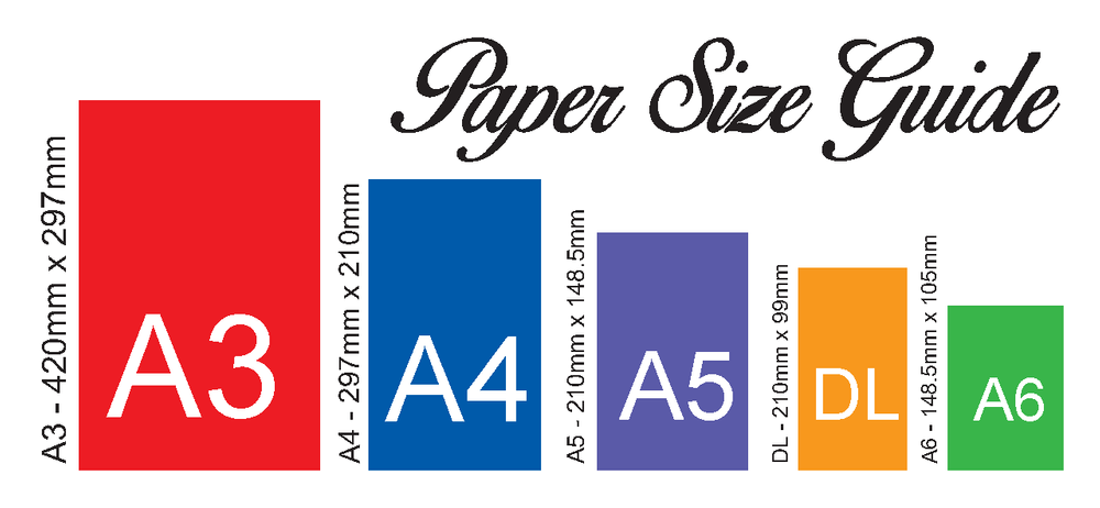 print paper size guides