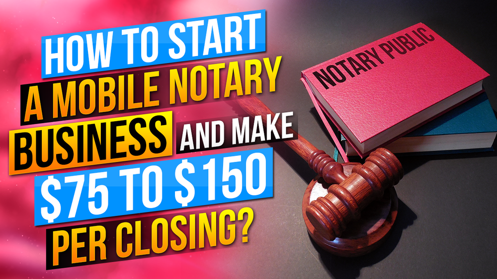 How to start a Mobile Notary business?