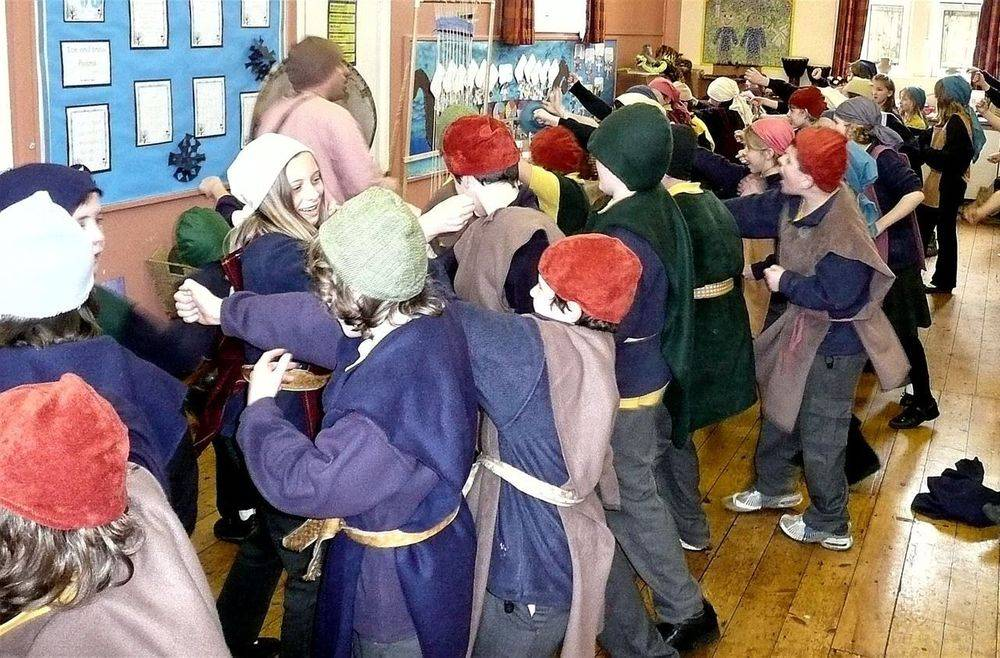 Viking workshop for primary schools ks1 ks2 Battle Drill