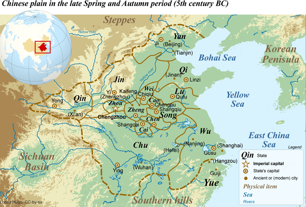 Chinese Plains, Spring and Autumn period, WIMB, War Is My Business
