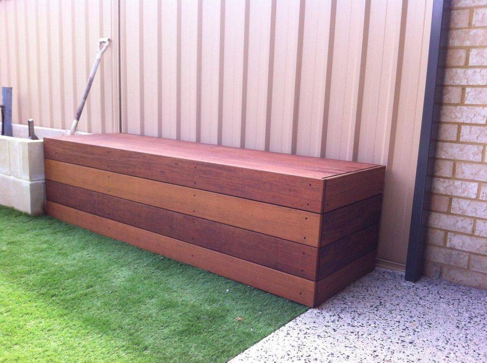 Merbau Solid Timber Bench Seat