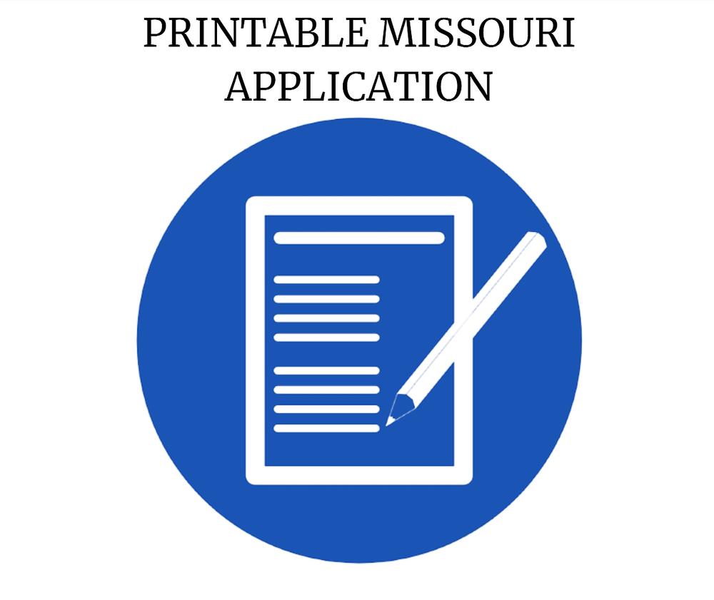Missouri Rental Appliation