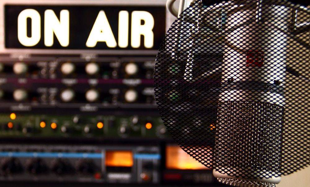 Podcast show with Big Ear Radio