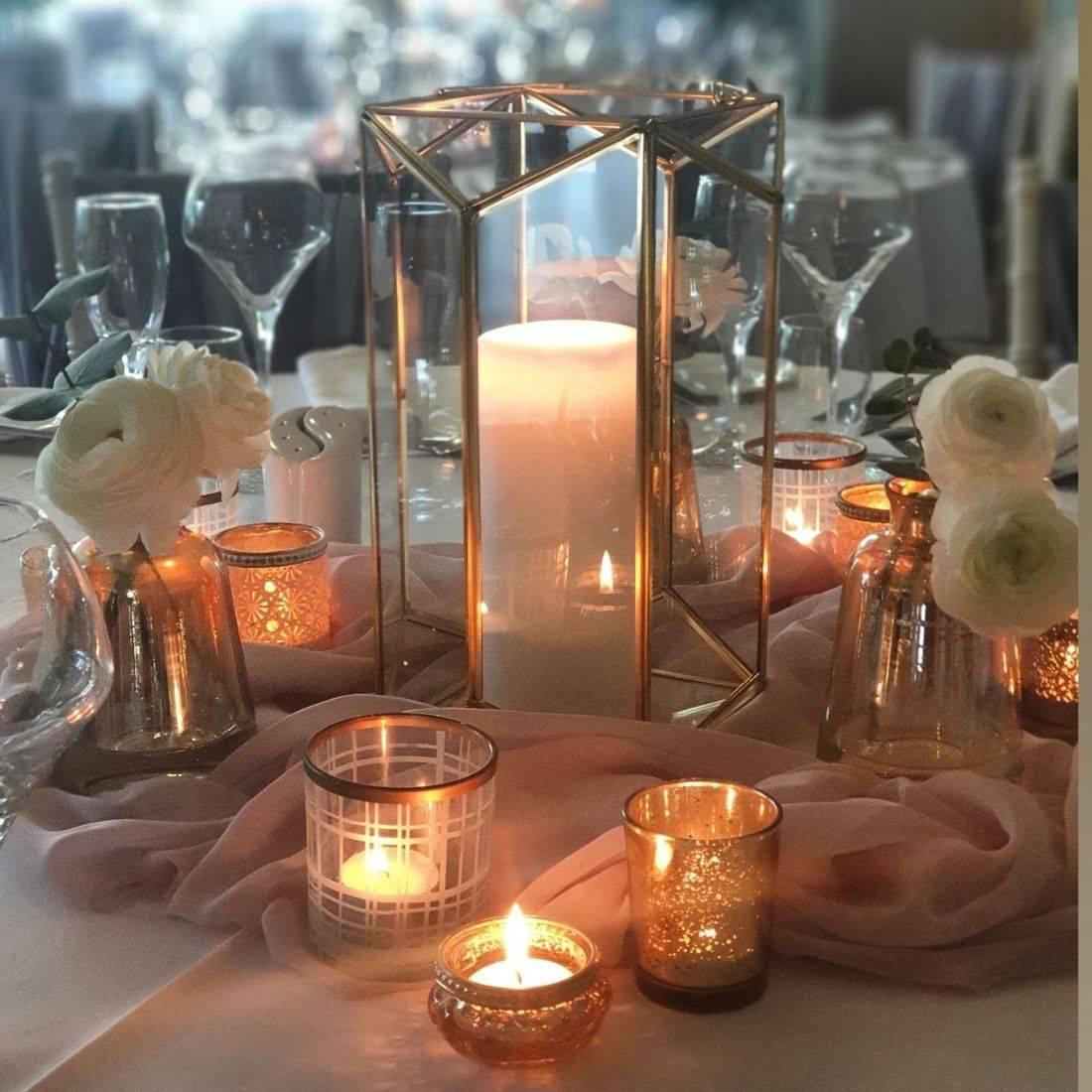 Gold wedding decor ideas