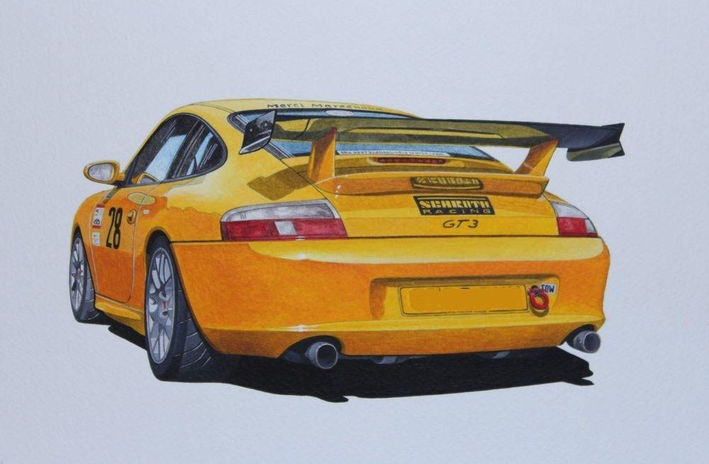 Porsche GT3RS (Acrylic) : Commission (UK)