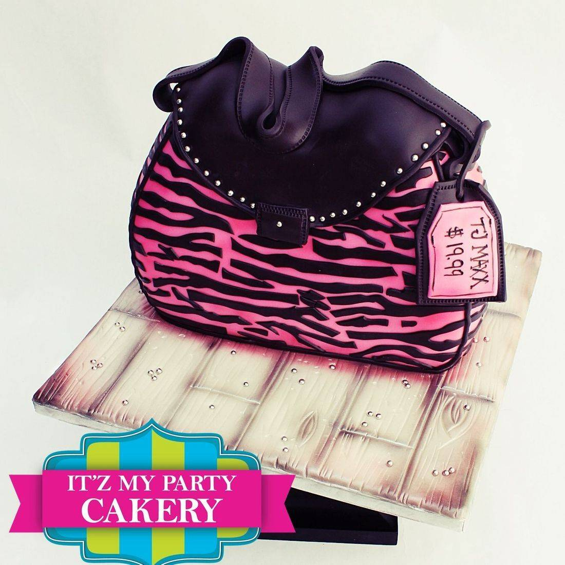 Zebra Purse Cake Dimensional Cake Milwaukee