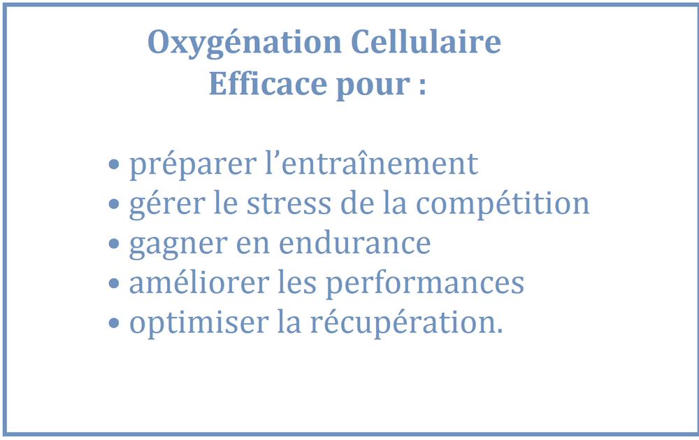 oxygénation cellulaire naturelle Luxembourg