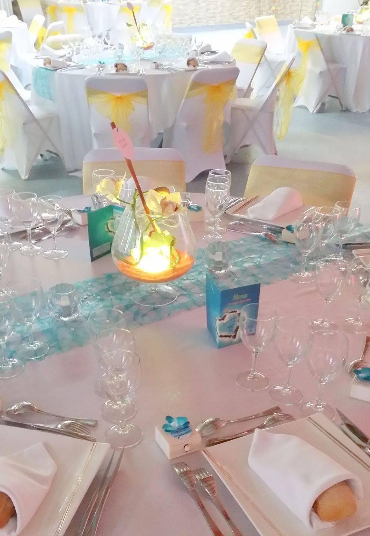 Table décoration des îles