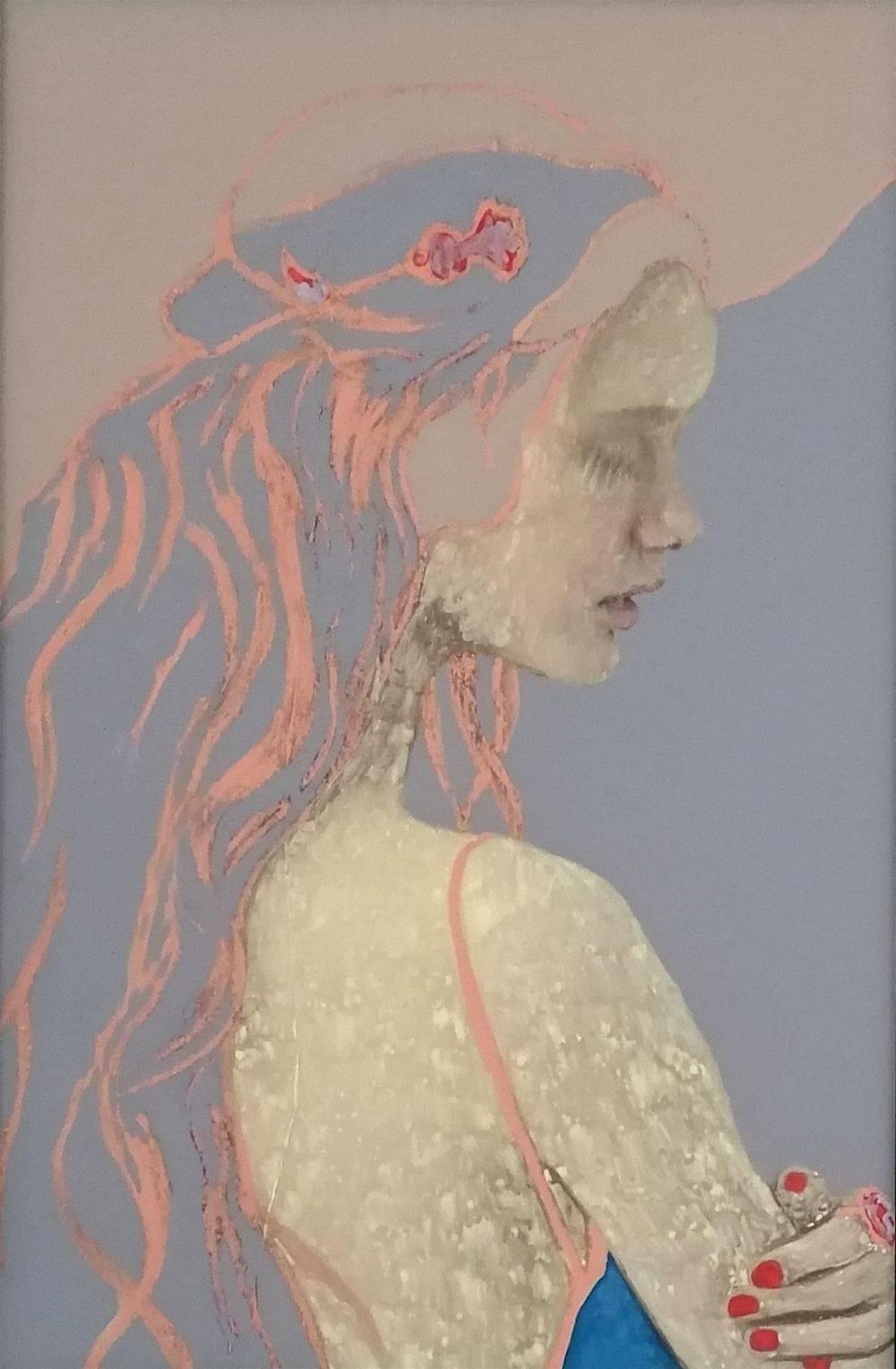 Aquarelle, Acrylique, Animal, Portrait, Histoire de l'art
