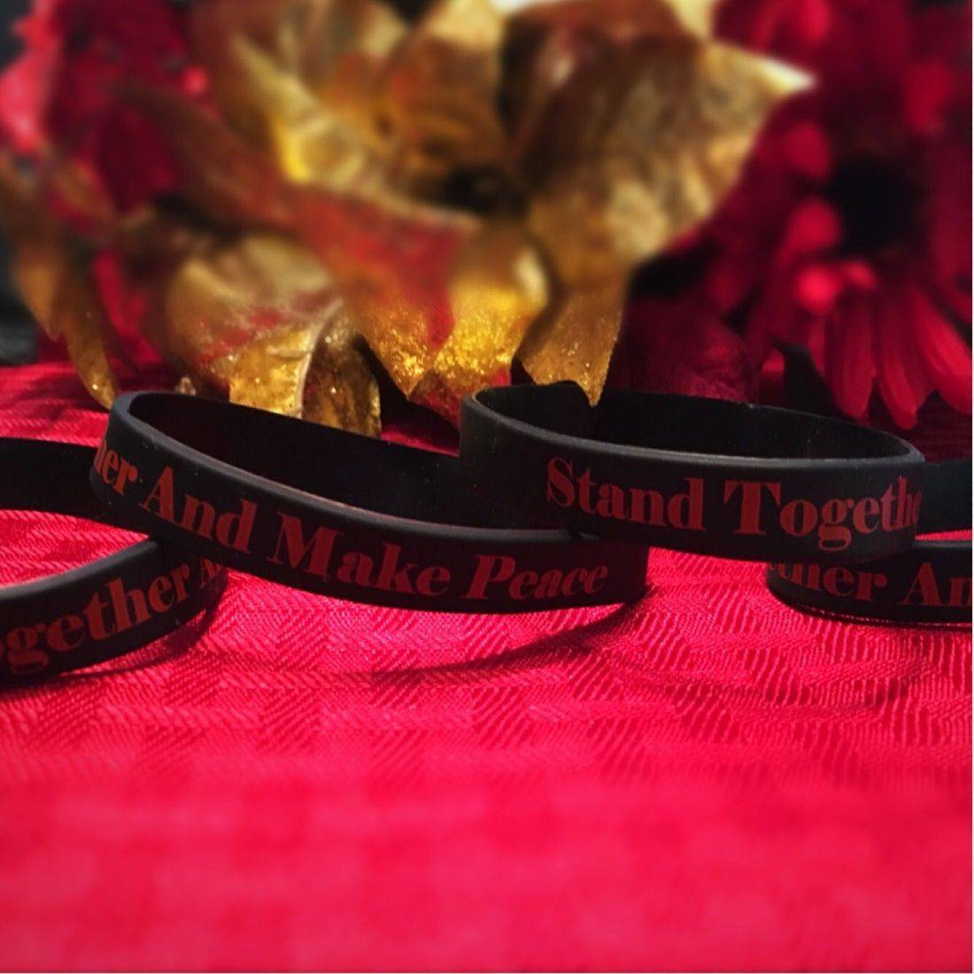 STAMP Wristbands, STAMP, #STAMPNationChat, Derrick Hazelwood