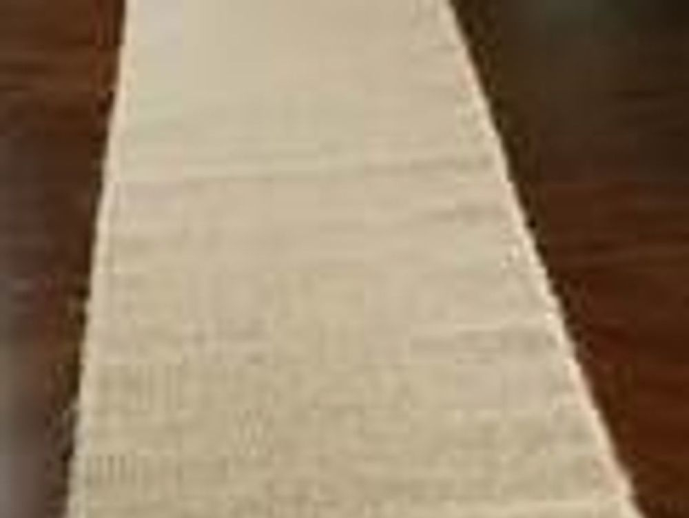 natural burlap table runners