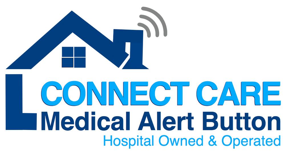 Connectcare Medical Alert Logo in Blue