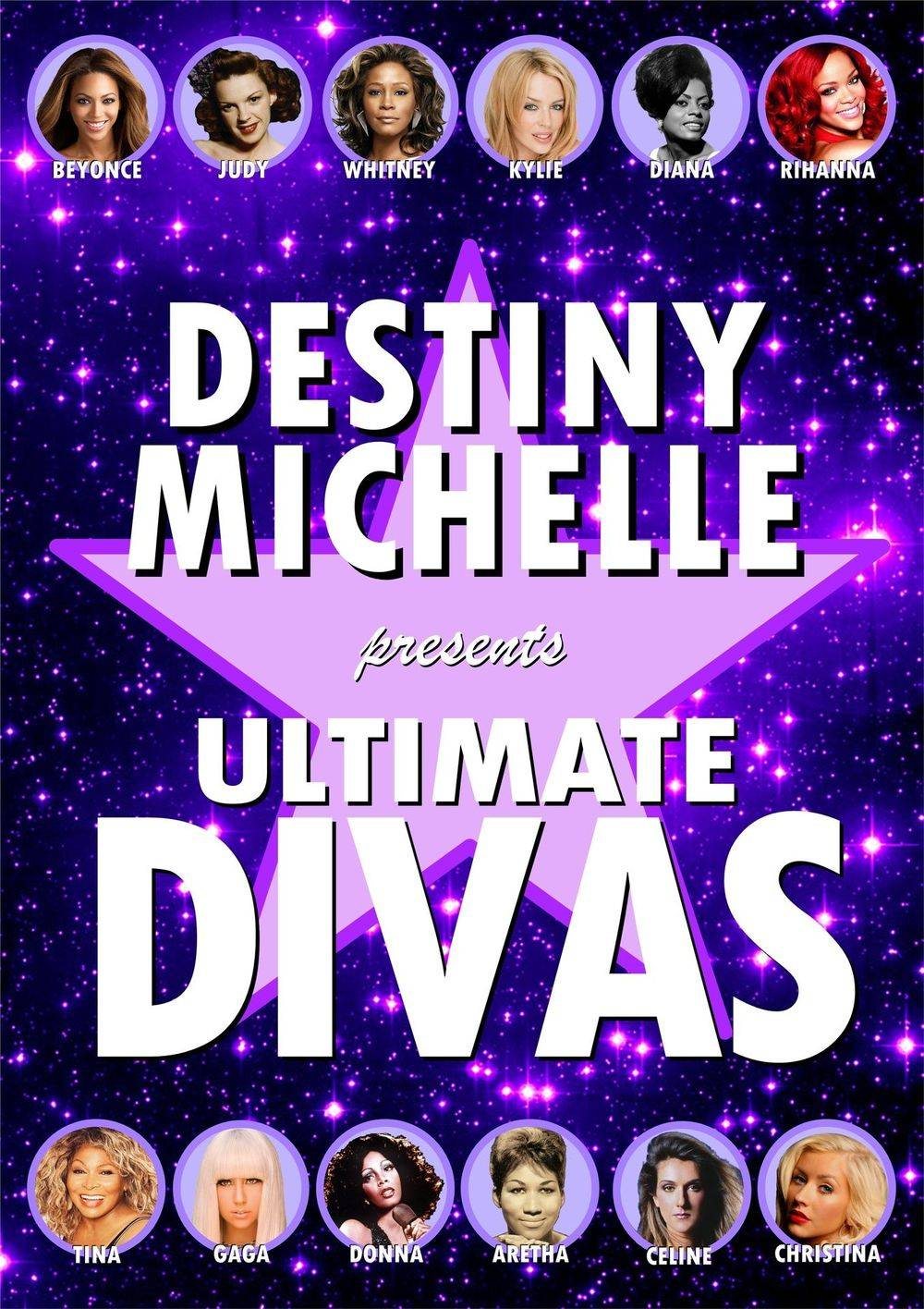 Destiny Michelle - ULTIMATE DIVAS Tribute