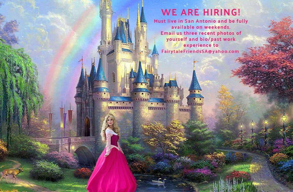 Princess Party Characters For Hire Jobs San Antonio