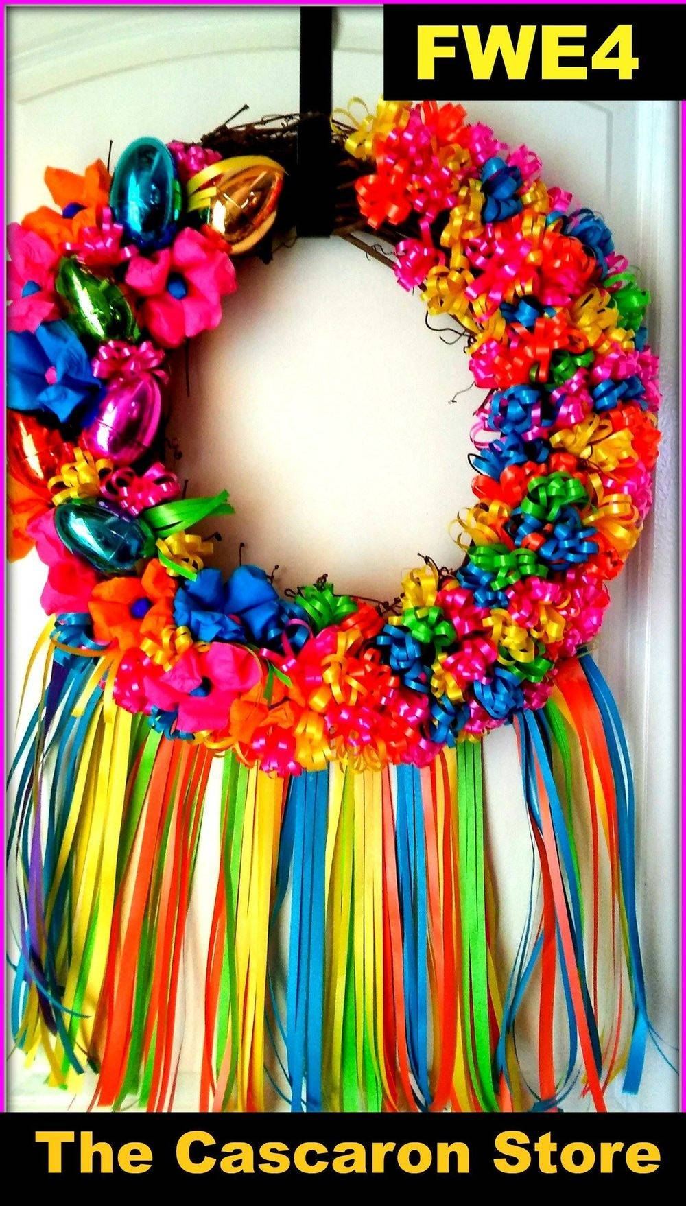 fiesta Easter wreath