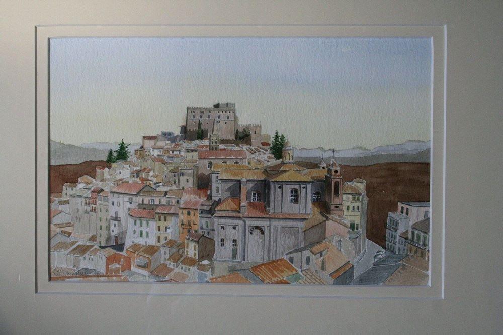 Soriano Nel Cimino, Italy (Watercolour) : Available £150