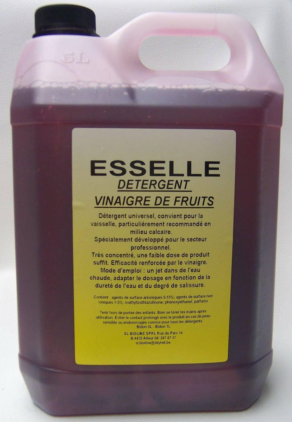 DÉTERGENT VAIS. PRO VINAIGRE DE FRUITS 5 L