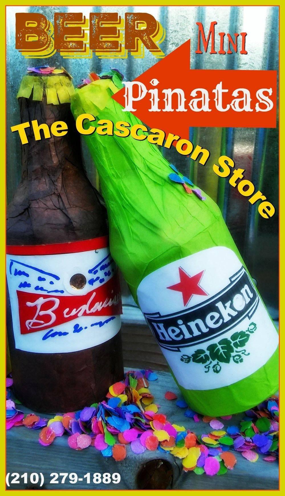 custom beer pinatas