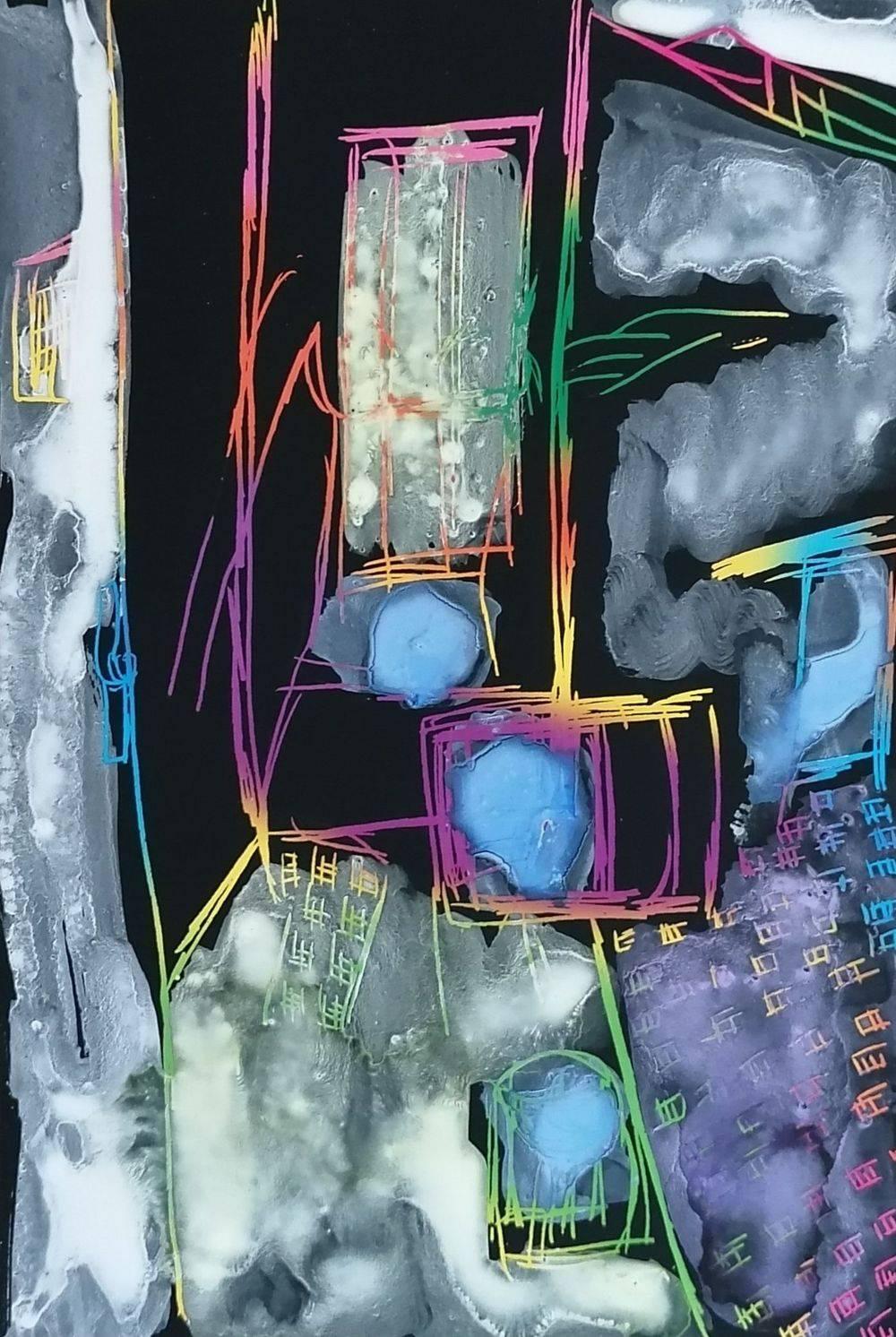 Aquarelle, Carte à gratter, Dessin, Natures mortes, Intérieurs, Histoire de l'art, Bretagne