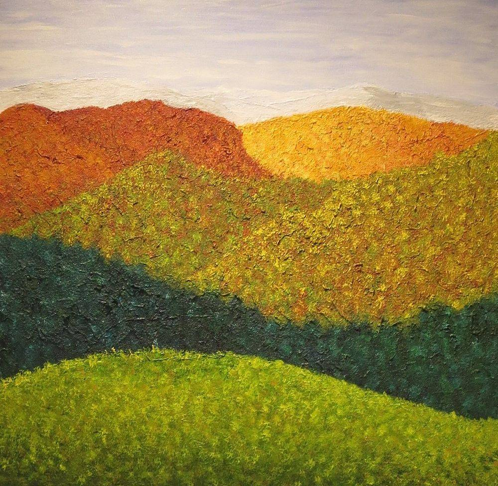Autumn Acrylic on Canvas  24 in. x 24 in.