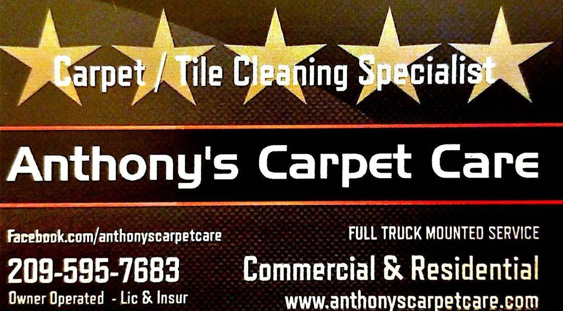 Carpet Steam Cleaning 5 Start Rating