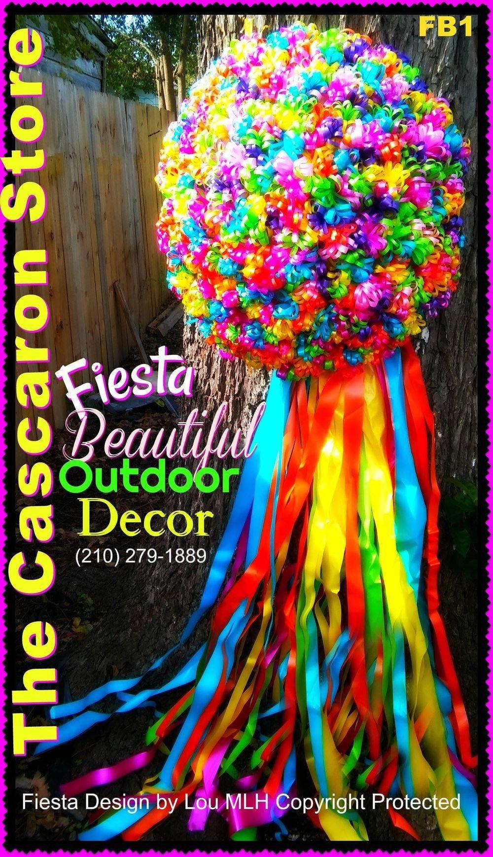 fiesta large decoration