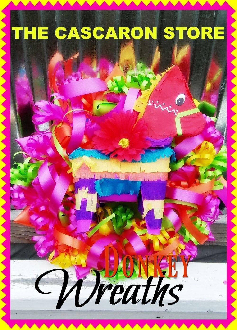 fiesta donkey wreath